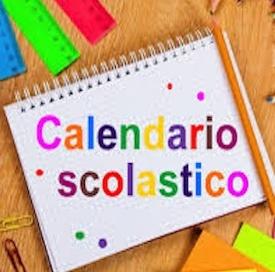 CALENDARIO SCOLASTICO 2020/21