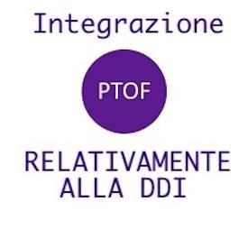 INTEGRAZIONE PTOF RELATIVAMENTE ALLA DDI