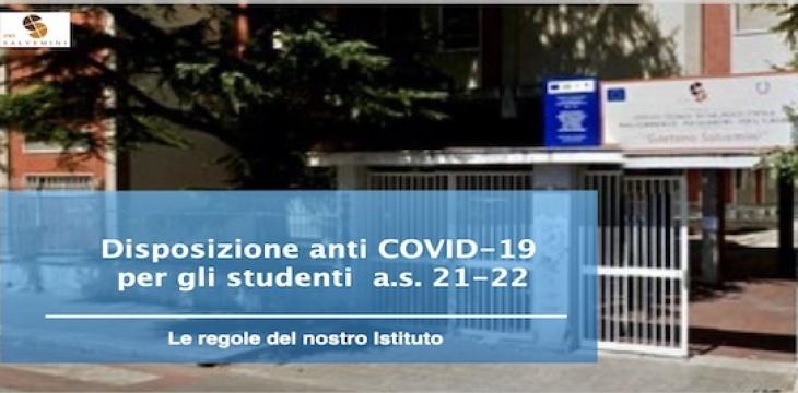 DISPOSIZIONI ANTI COVID-19