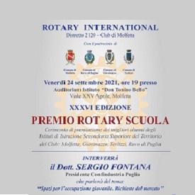 """""""Premio scuola"""" del Rotary Club di Molfetta"""